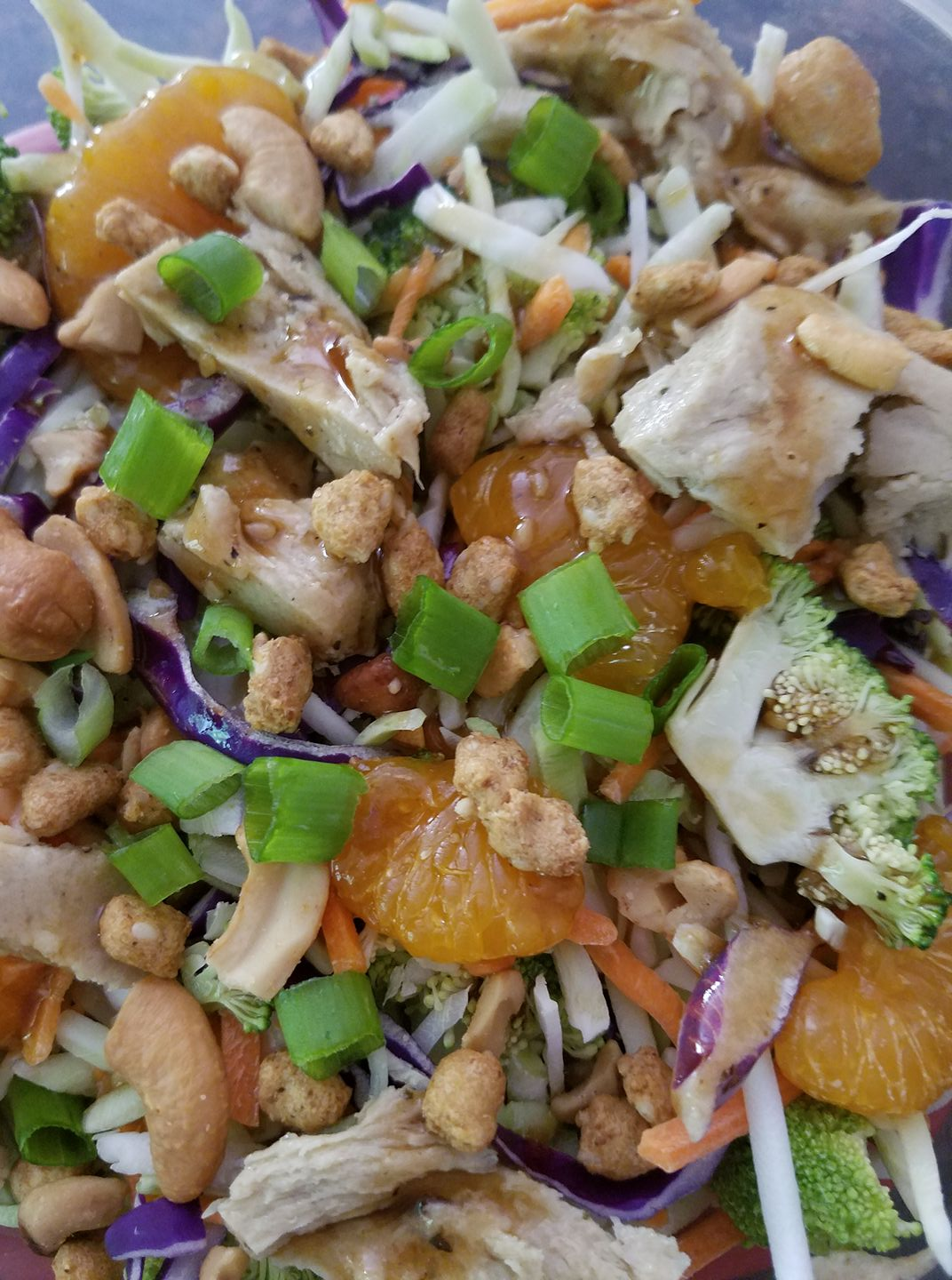 Asian Salad with Tofurky Slow Roasted Chik'n